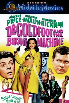 Dr. Goldfoot and the Bikini Machine cover